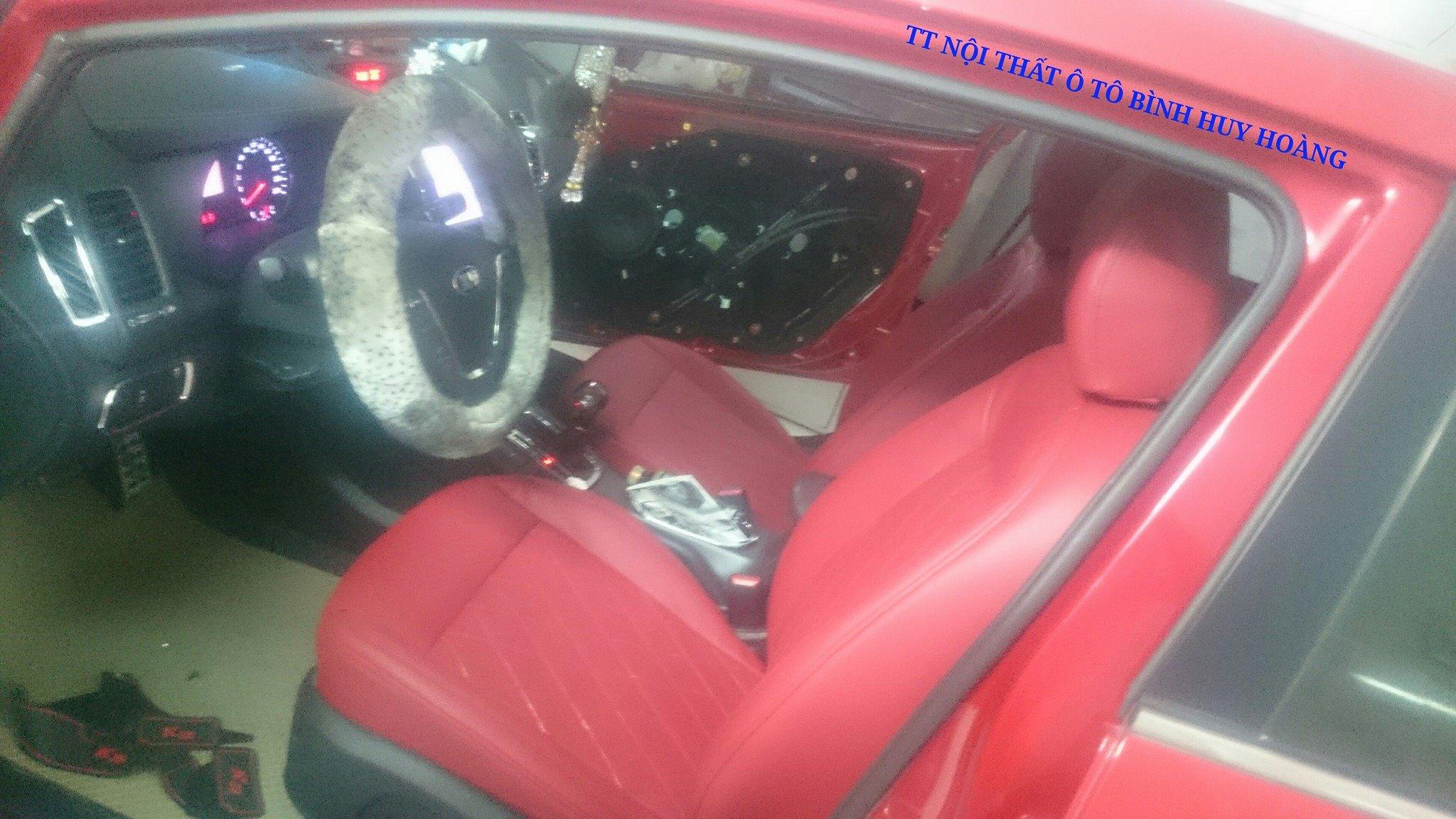Đổi màu nội thất Kia K3
