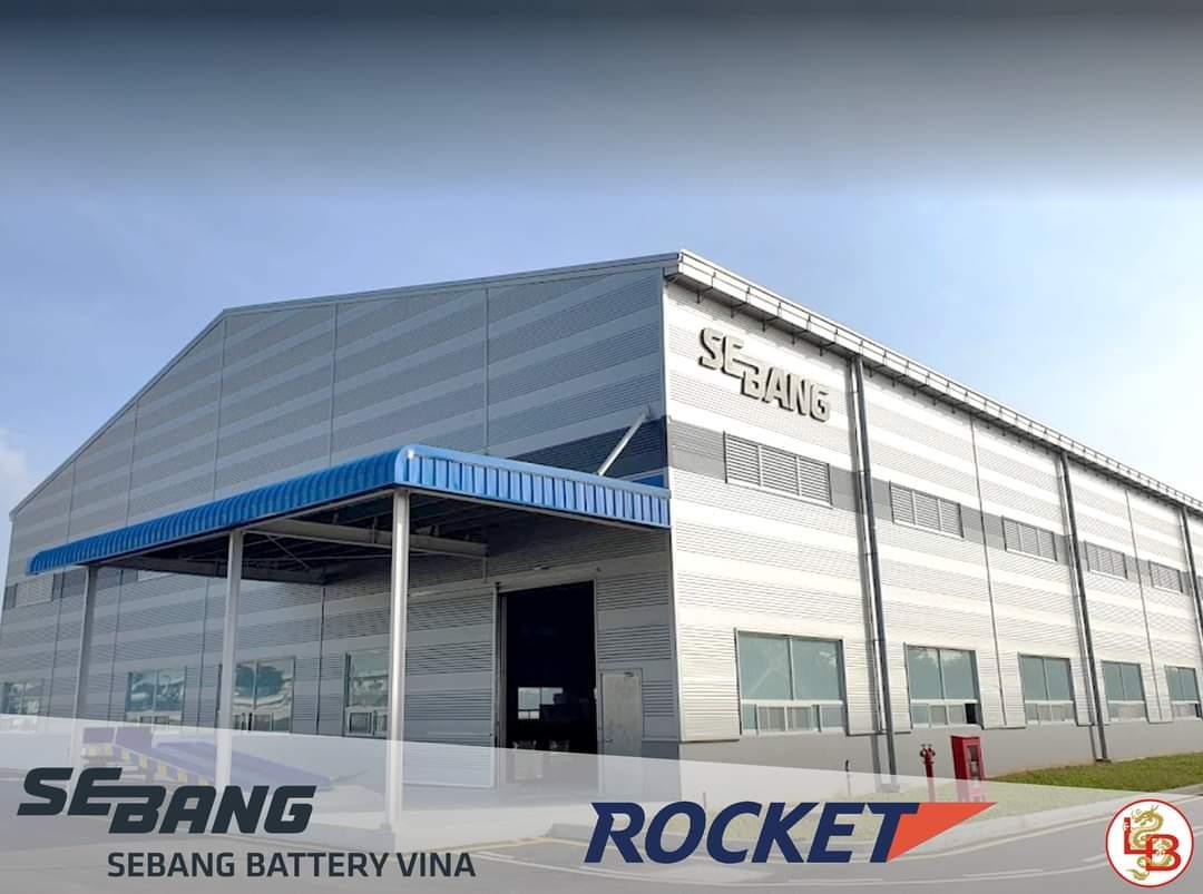 Nhà máy acquy Rocket